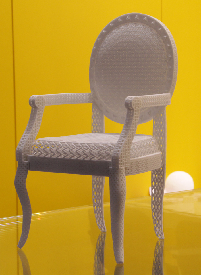 The Most Beautiful Chair Ever Printed